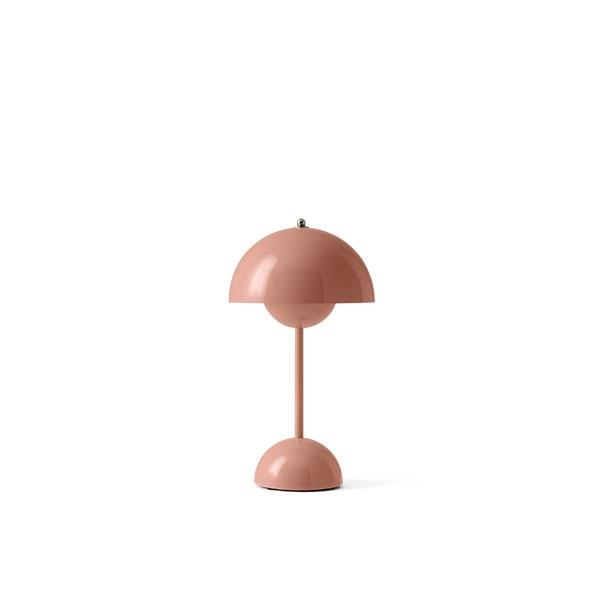 &Tradition Flowerpot VP9 Bordlampe Transportabel Beige Rød