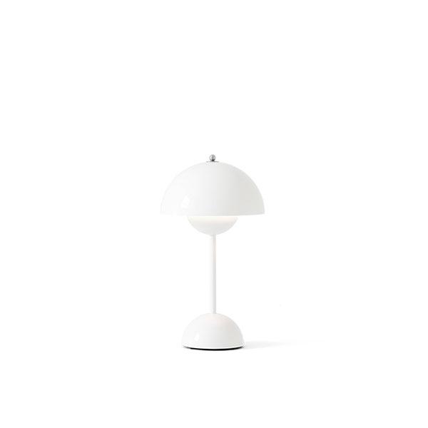 &Tradition Flowerpot VP9 Bordlampe Transportabel Hvid