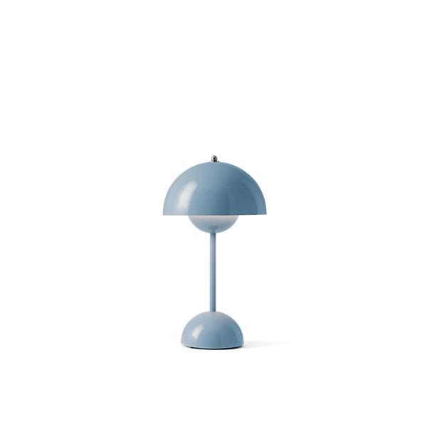 &Tradition Flowerpot VP9 Bordlampe Transportabel Lys Blå thumbnail