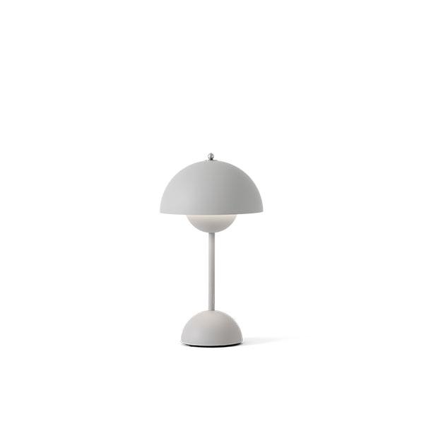 &Tradition Flowerpot VP9 Bordlampe Transportabel Mat Lys Grå