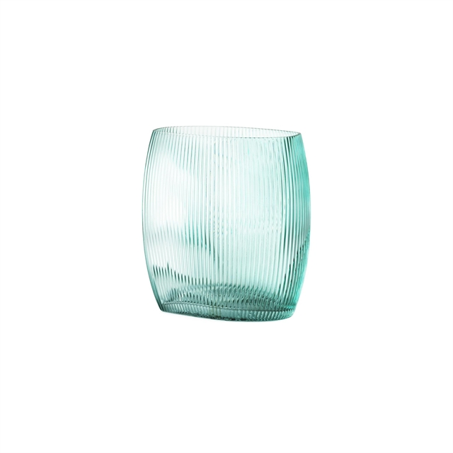 Normann Copenhagen Tide Vase Blå H18