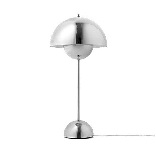 &tradition Flowerpot VP3 Bordlampe Poleret Stål
