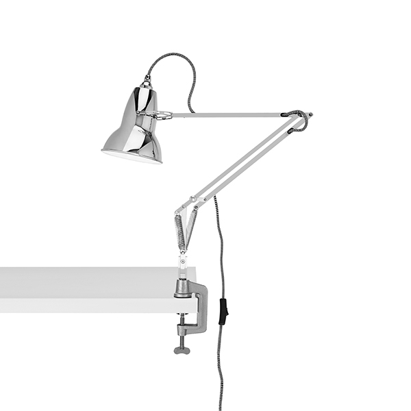 Image of Anglepoise Original 1227 Lampe M. Klemme Bright Chrome