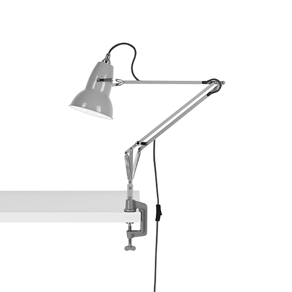 Image of   Anglepoise Original 1227 Lampe M. Klemme Dove Grey