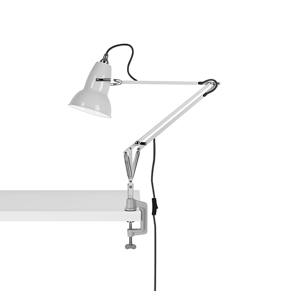 Image of   Anglepoise Original 1227 Lampe M. Klemme Linen White