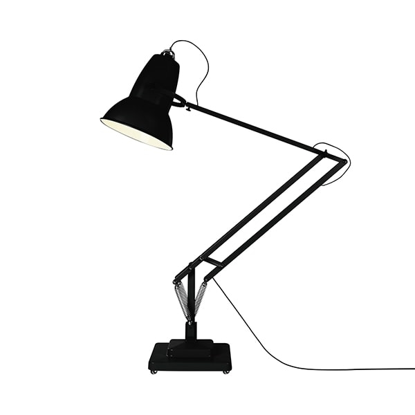 Image of   Anglepoise Original 1227 Giant Gulvlampe Jet Black - Mat Finish