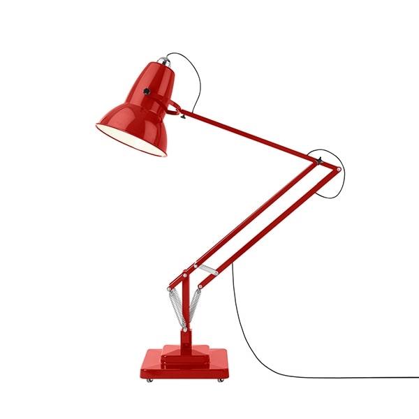 Anglepoise Original 1227 Giant Gulvlampe Crimson Red fra Anglepoise