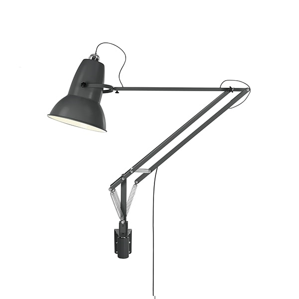 Image of   Anglepoise Original 1227 Giant Lampe M. Vægbeslag Slate Grey