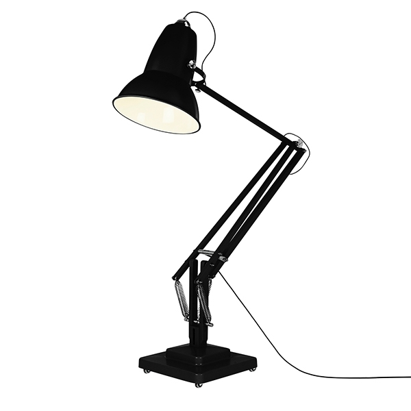Image of   Anglepoise Original 1227 Giant Udendørs Gulvlampe Jet Black - Satin Finish