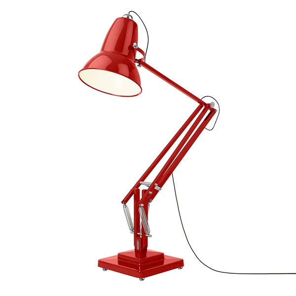 Image of   Anglepoise Original 1227 Giant Udendørs Gulvlampe Crimson Red