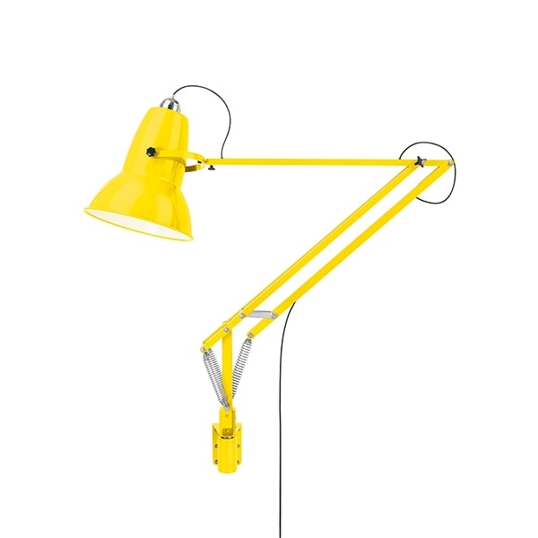 Image of Anglepoise Original 1227 Giant Lampe M. Vægbeslag Citrus yellow