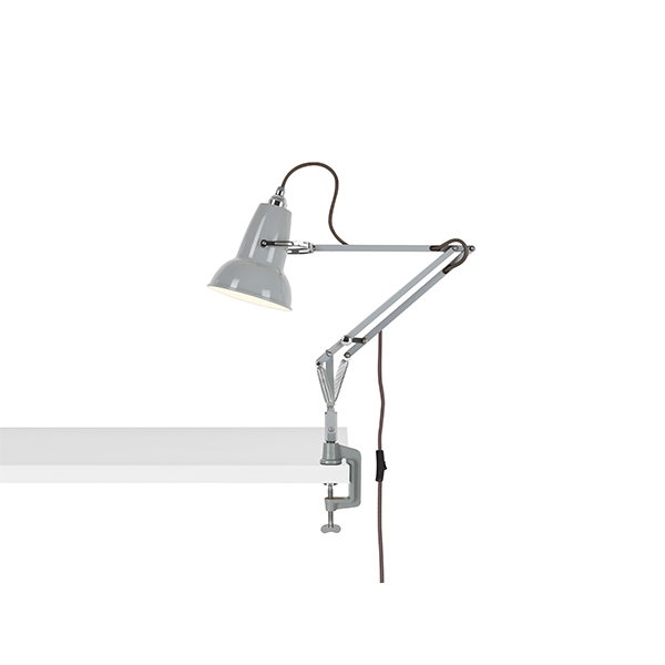 Image of   Anglepoise Original 1227 Mini Lampe M. Klemme Dove Grey