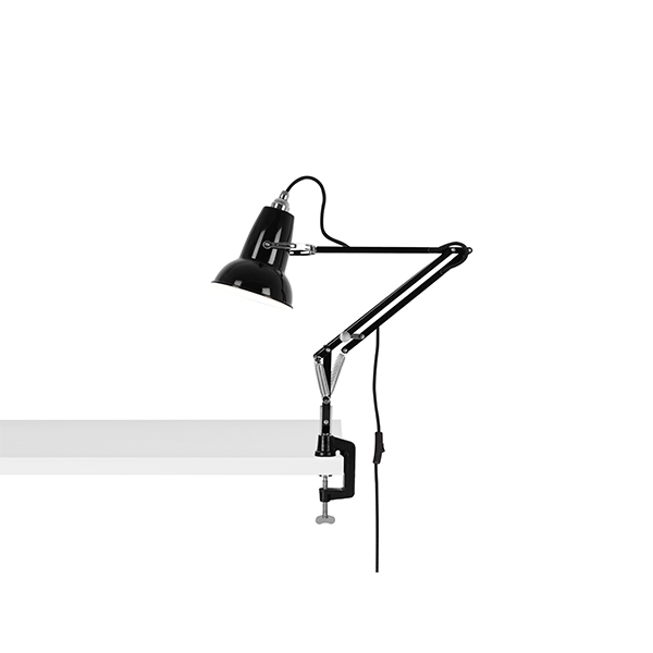Image of   Anglepoise Original 1227 Mini Lampe M. Klemme Jet Black