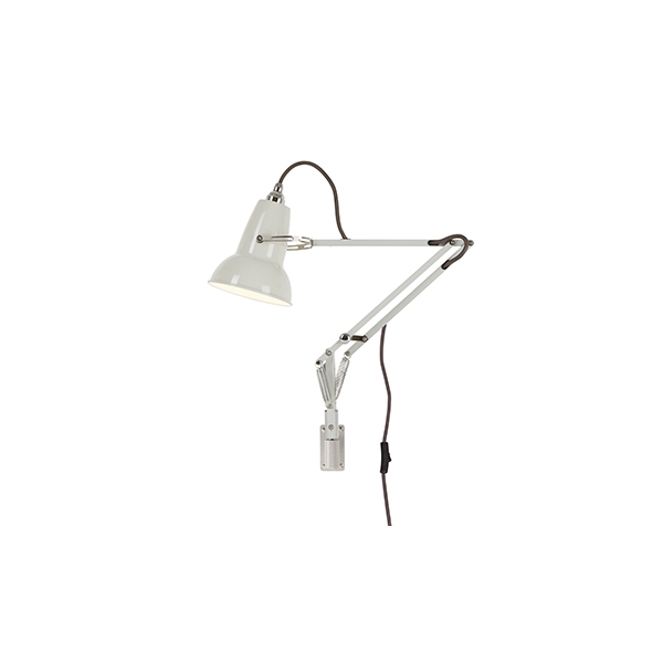 Image of   Anglepoise Original 1227 Mini Lampe M. Vægbeslag Linen White