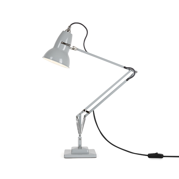 Image of Anglepoise Original 1227 Bordlampe Dove Grey