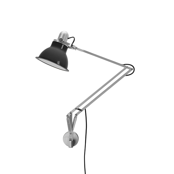 Image of   Anglepoise Type 1228 Lampe M. Vægbeslag Granite Grey