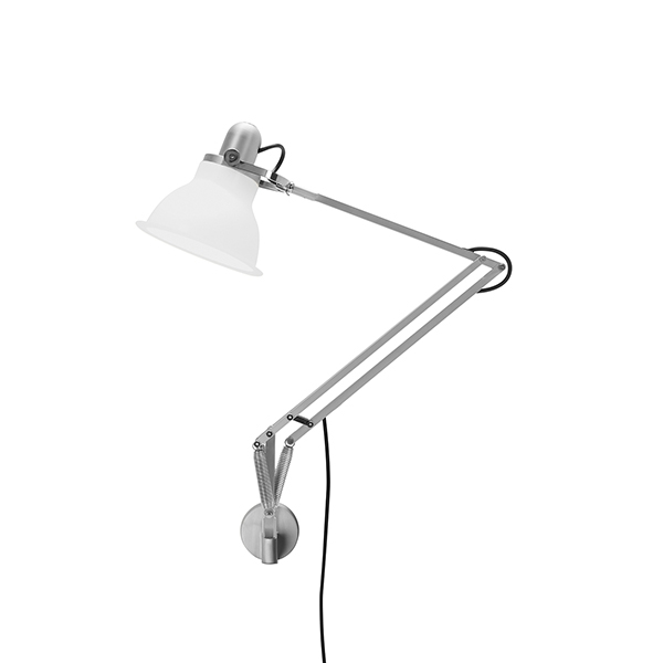 Image of   Anglepoise Type 1228 Lampe M. Vægbeslag Ice White