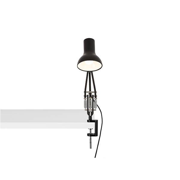 Image of Anglepoise Type 75 Mini Lampe M. Klemme Jet Black