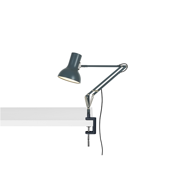 Image of Anglepoise Type 75 Mini Lampe M. Klemme Slate Grey