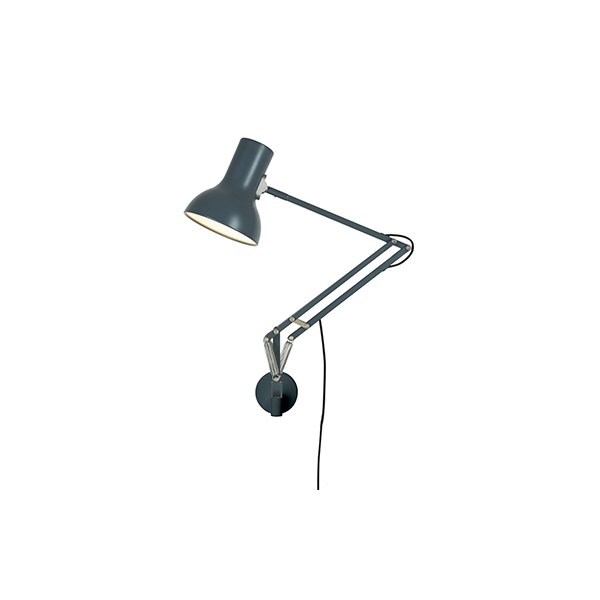 Anglepoise Type 75 Mini Lampe M. Vægbeslag Slate Grey