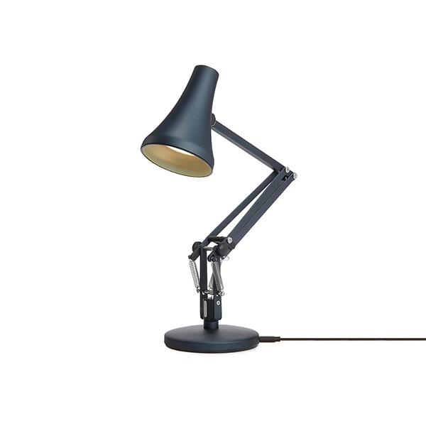 Image of   Anglepoise 90 Mini Mini Bordlampe Steel Blue & Grey
