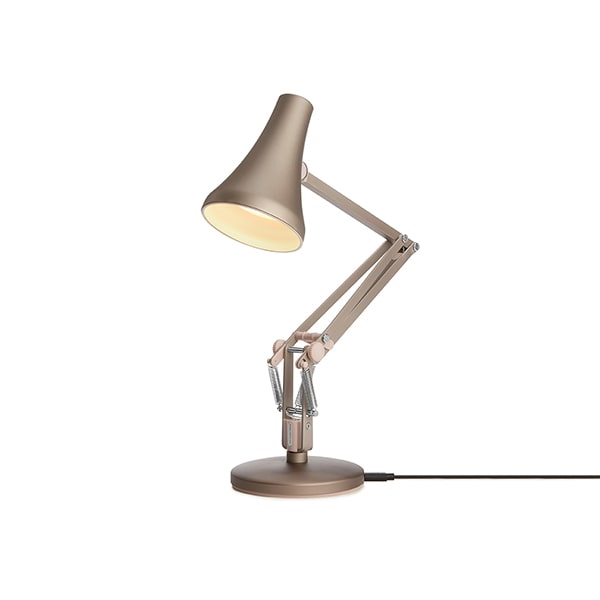 Image of   Anglepoise 90 Mini Mini Bordlampe Warm Silver & Blush