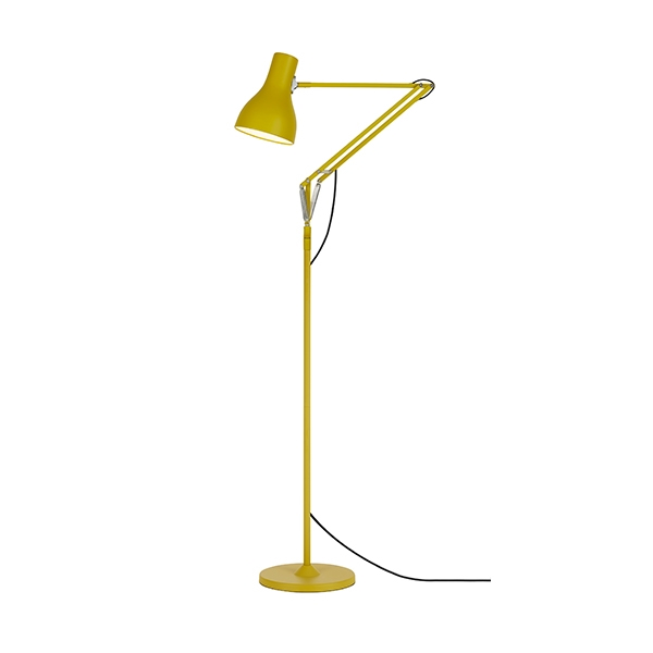 Image of Anglepoise Type 75 Gulvlampe Anglepoise + Margaret Howell Yellow Ochre