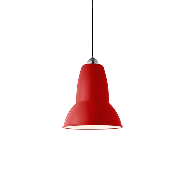 Image of Anglepoise Original 1227 Giant Pendel Crimson Red