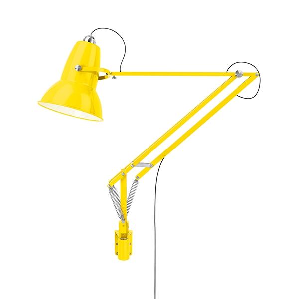 Image of   Anglepoise Original 1227 Giant Udendørs Lampe M. Vægbeslag Citrus yellow