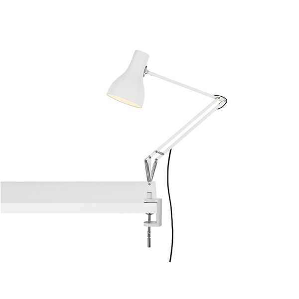 Image of Anglepoise Type 75 Lampe M. Klemme Alpine White