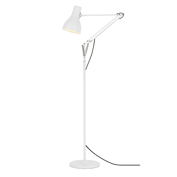 Image of Anglepoise Type 75 Gulvlampe Alpine White