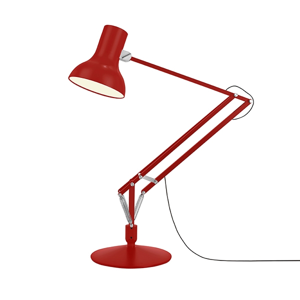 Image of Anglepoise Type 75 Giant Gulvlampe Crimson Red