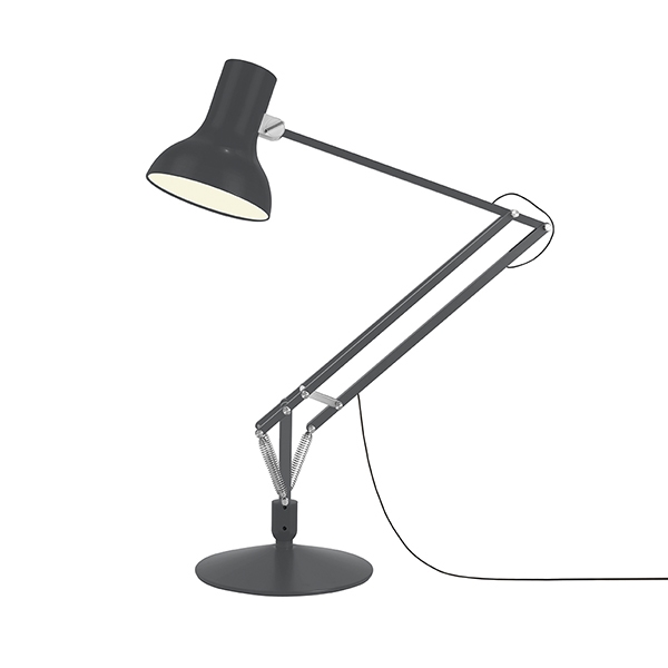 Image of Anglepoise Type 75 Giant Gulvlampe Slate Grey