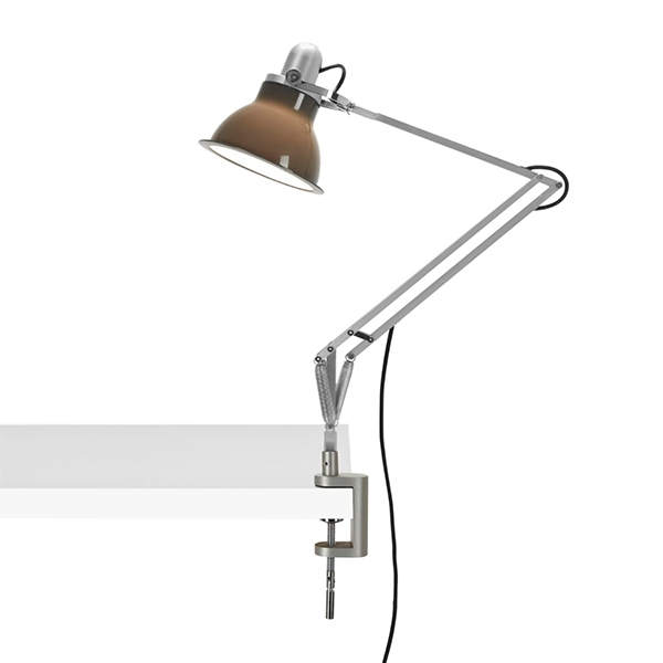 Image of Anglepoise Type 1228 Lampe M. Klemme Granite Grey