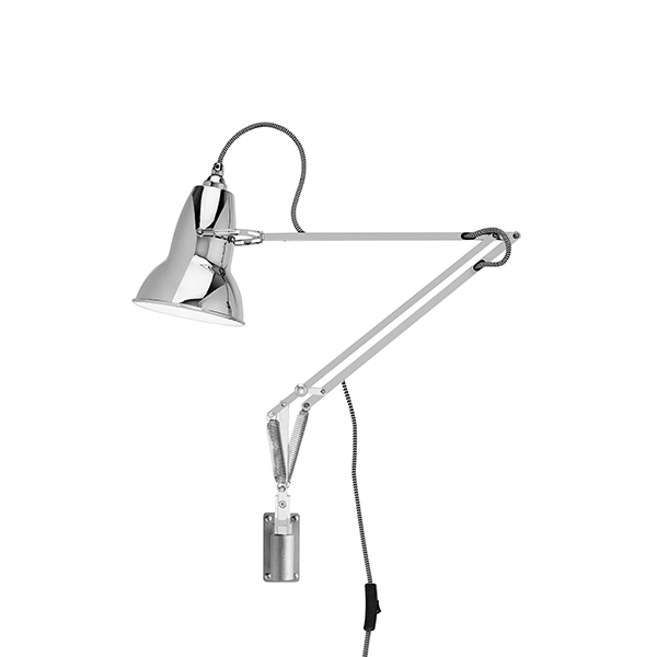 Image of Anglepoise Original 1227 Lampe M. Vægbeslag Bright Chrome