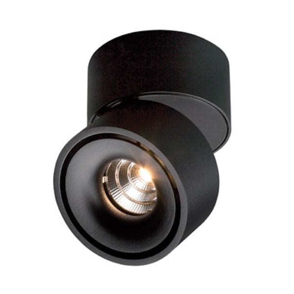 Antidark Easy Mini W75 Væglampe LED Sort