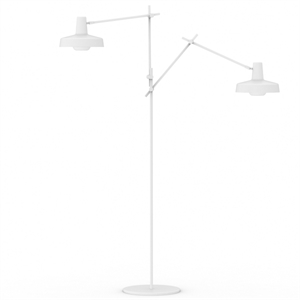 Grupa Products Arigato Double Gulvlampe Hvid