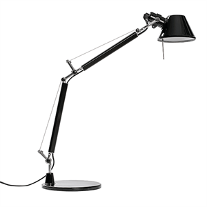 Artemide Tolomeo Micro Bordlampe Blank Sort - Limited Edition