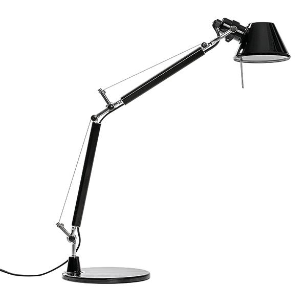 Image of   Artemide Tolomeo Micro Bordlampe Blank Sort - Limited Edition