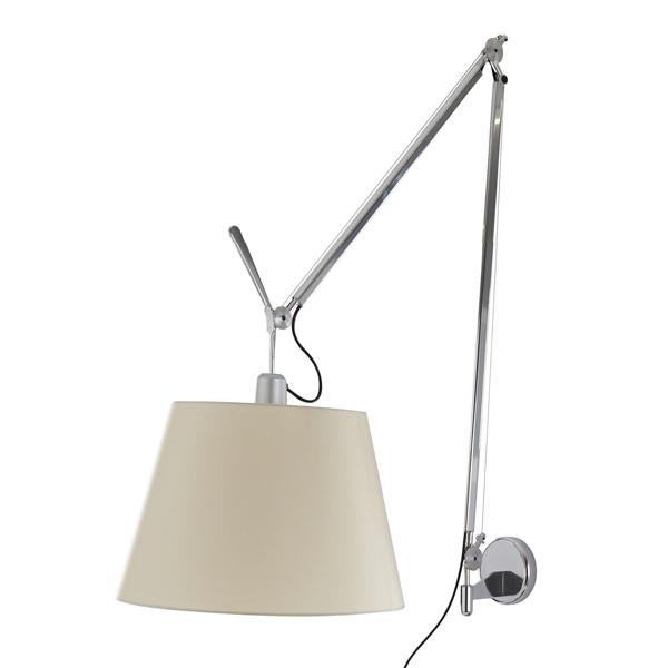 Billede af Artemide Tolomeo Mega Væglampe Pergament 42cm