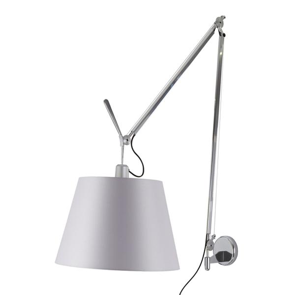 Billede af Artemide Tolomeo Mega Væglampe Satin 42cm