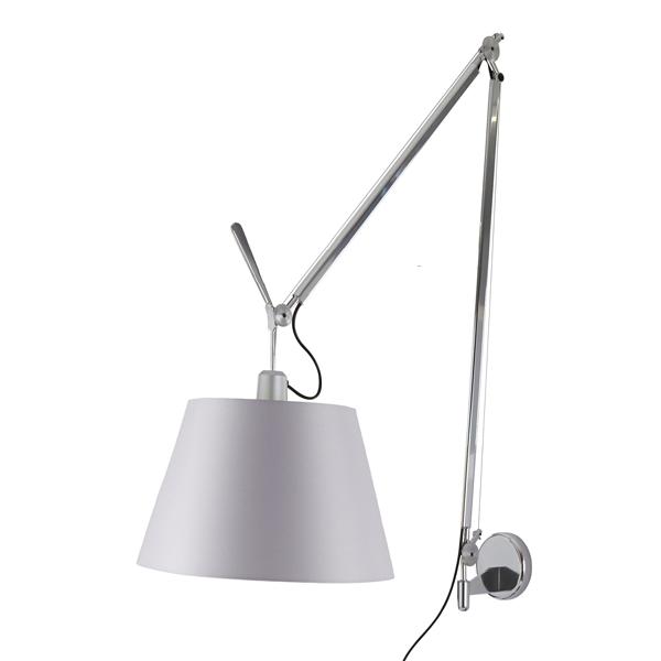 Billede af Artemide Tolomeo Mega Væglampe Satin 36cm
