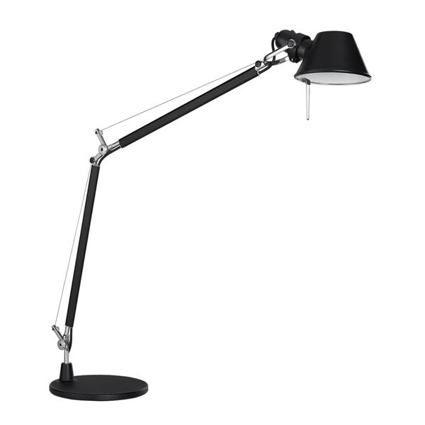Image of Artemide Tolomeo Bordlampe Sort