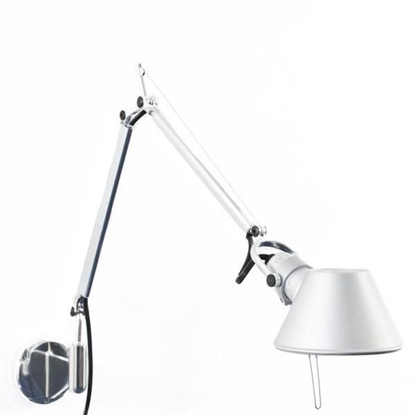 Image of   Artemide Tolomeo Micro LED Væglampe Aluminium 2700 Kelvin
