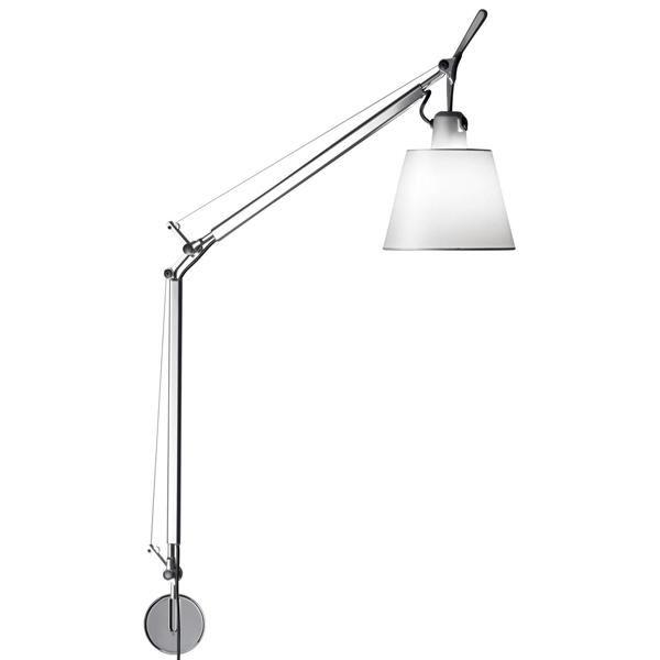 Image of   Artemide Tolomeo Basculante Væglampe Satin
