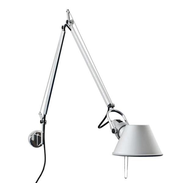 Image of   Artemide Tolomeo Væglampe Aluminium