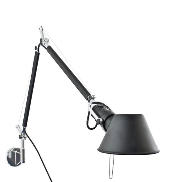 Image of   Artemide Tolomeo Mini Væglampe Sort