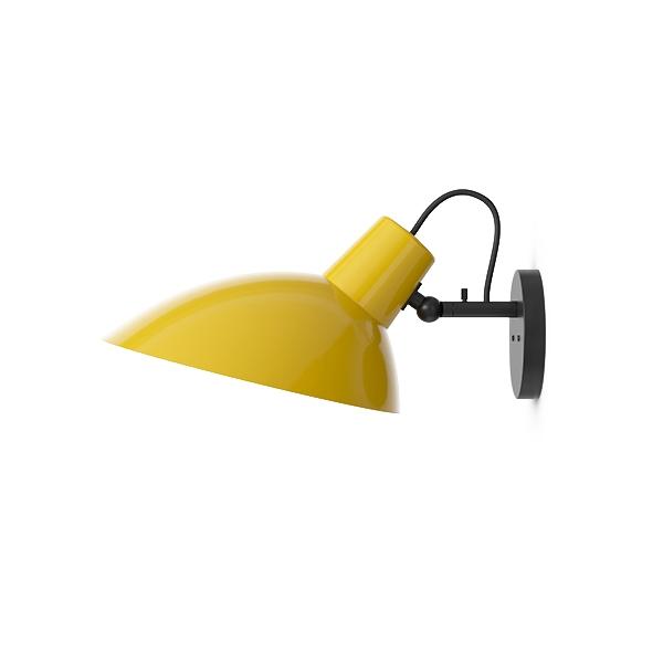 Astep VV Cinquanta Væglampe Sort/Gul fra Astep