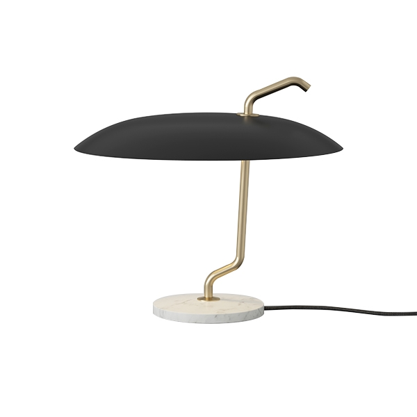 Image of   Astep Model 537 Bordlampe Sort/Hvid