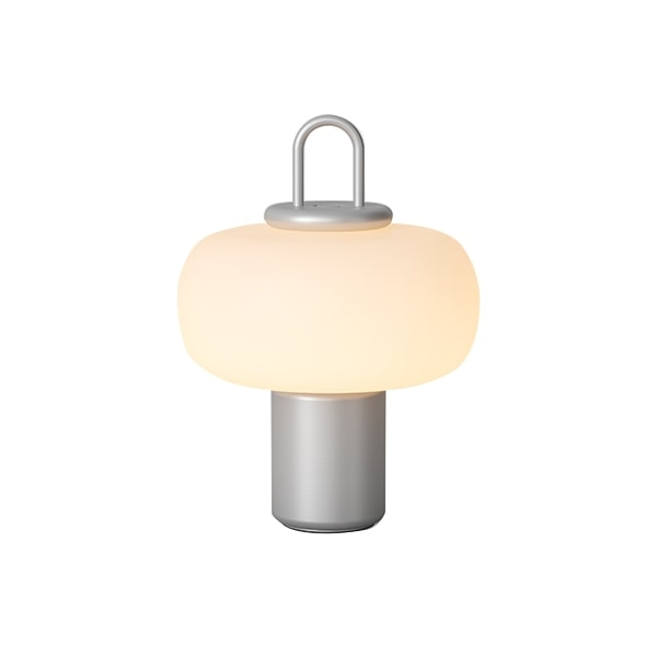 Image of   Astep Nox Bordlampe Sølv